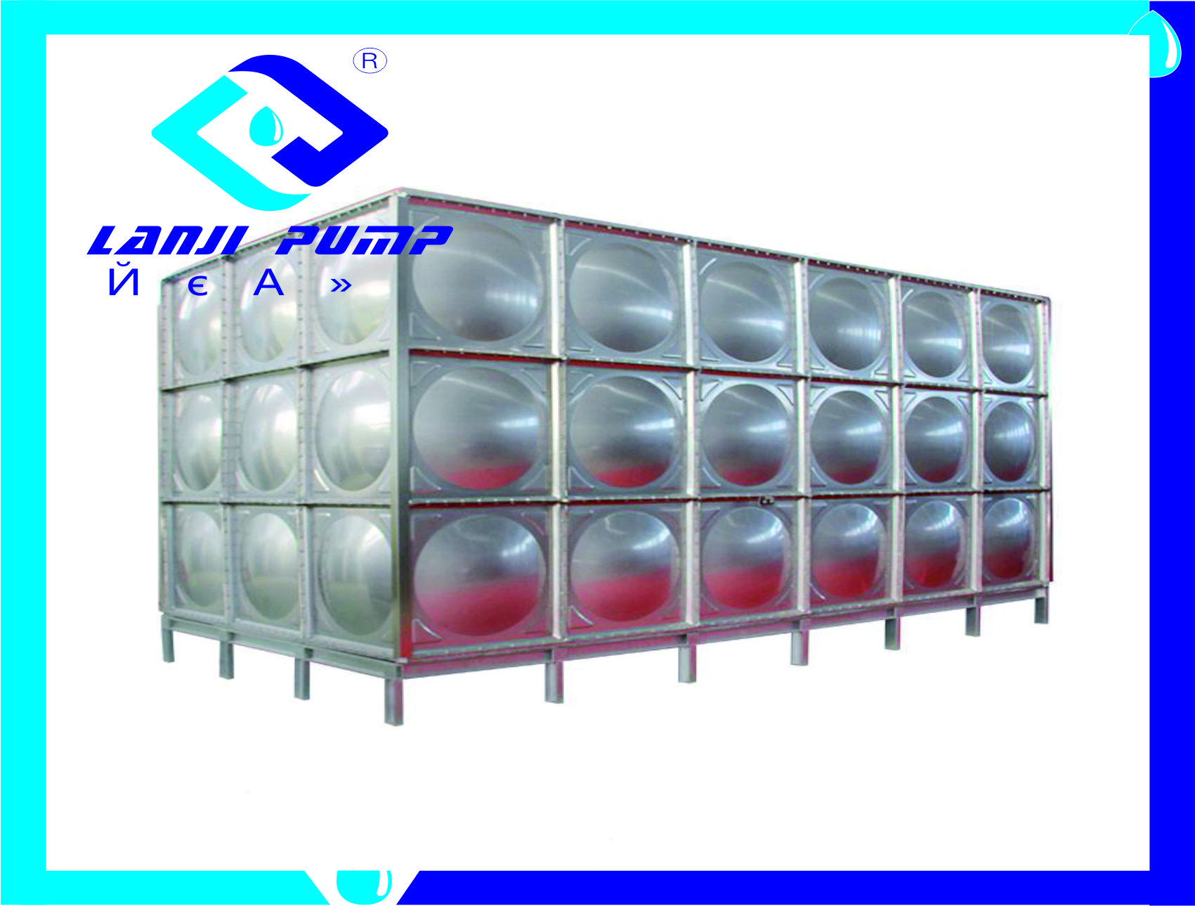 无焊接装配式不锈钢水箱