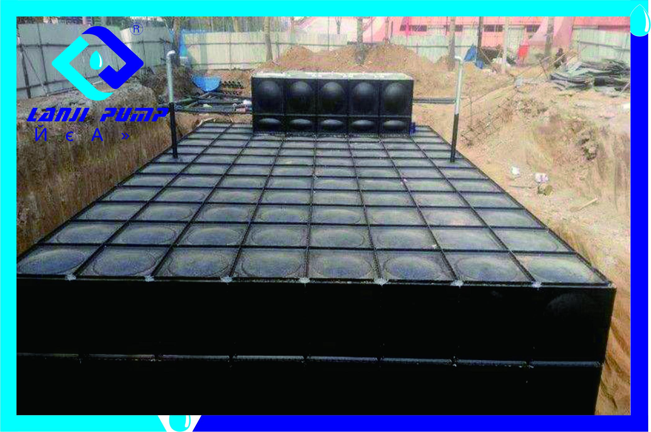 抗浮地埋箱泵一体化泵站安装方法